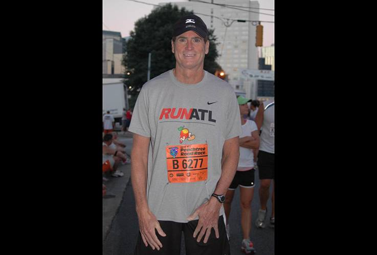 Dr. Pate at Run Atl